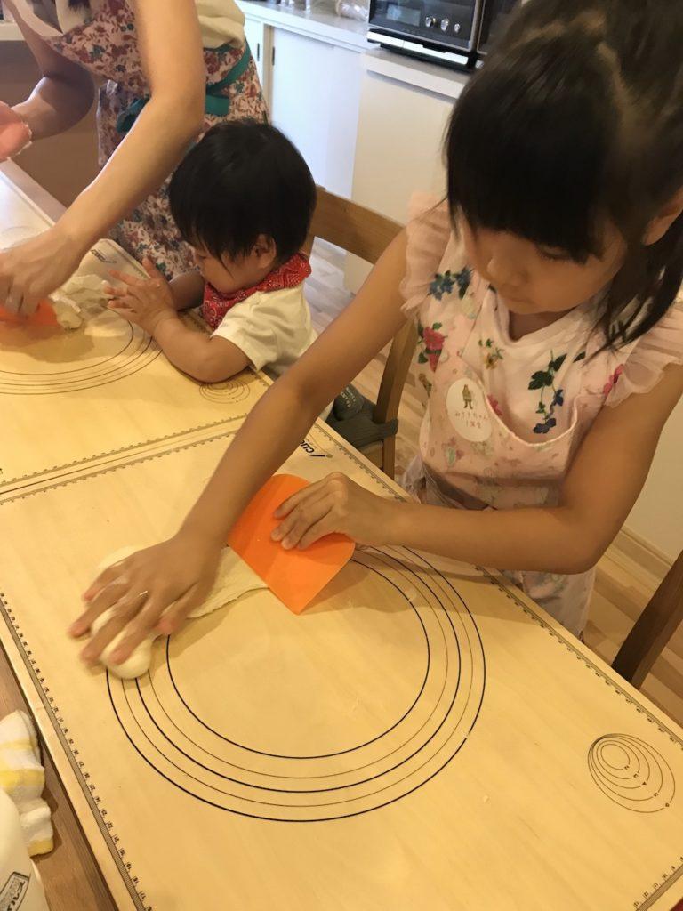 子供パン教室